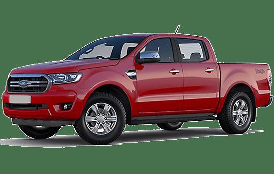 Ford ranger màu đỏgiaxetot 2019