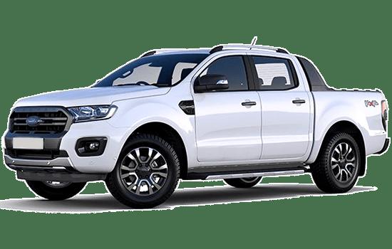 Ford ranger màu trắng giaxetot
