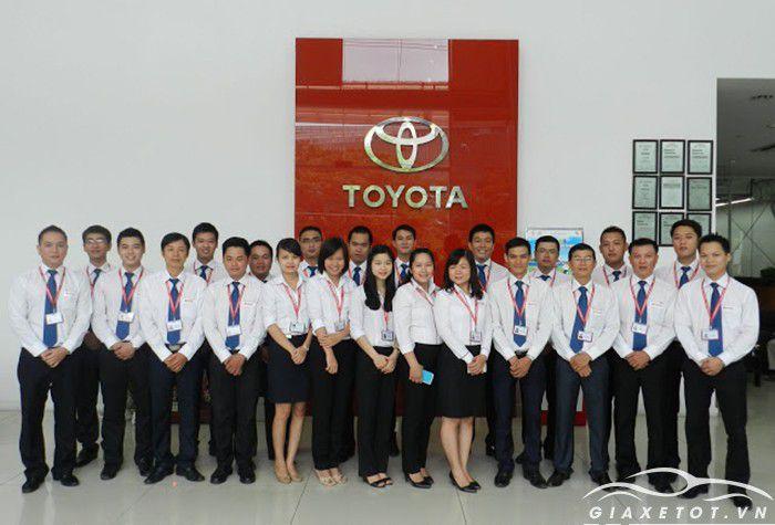 Đại lý xe ô tô Toyota Phú Mỹ Hưng