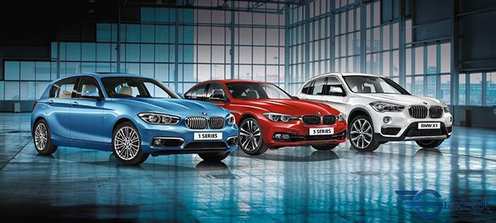 trưng bày BMW