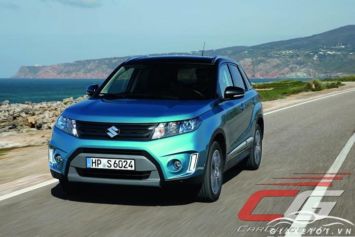 Suzuki Vitara xanh