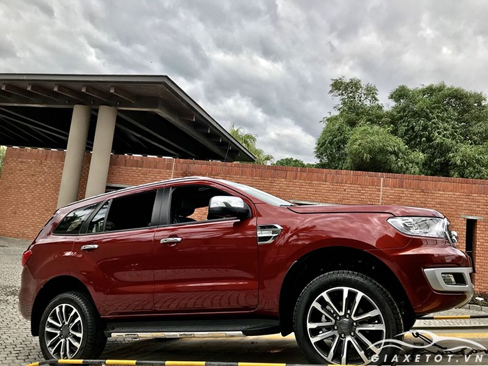 thân xe Ford Everest 2019
