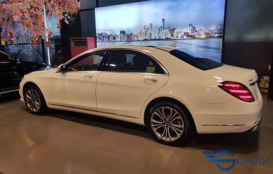 thân xe mercedes benz S 450L Luxury  mới nhất