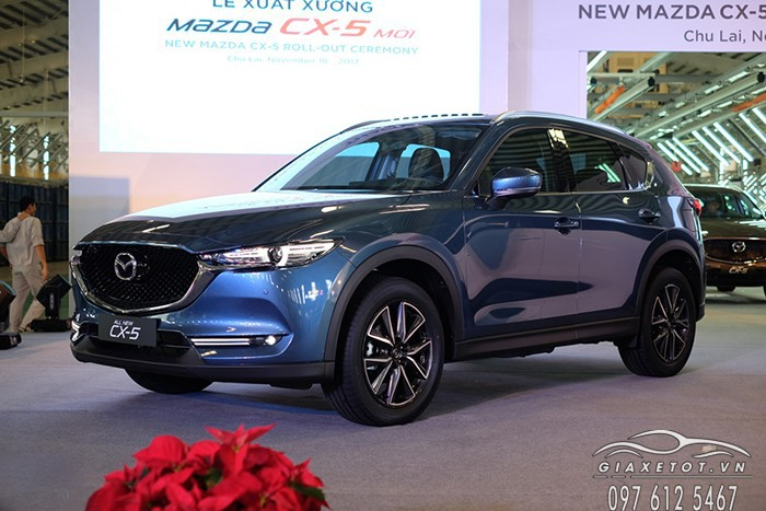 than xe mazda cx5 2018