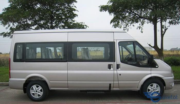 thân xe transit