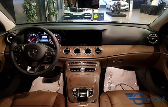 tiện nghi nội thất của xe mercedes benz E200