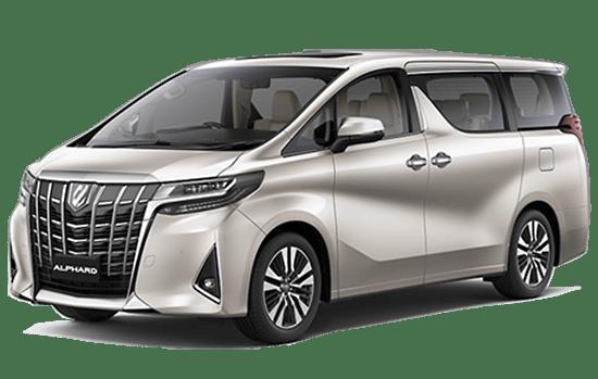 Toyota alphard luxury màu bạc 2019 giaxetot