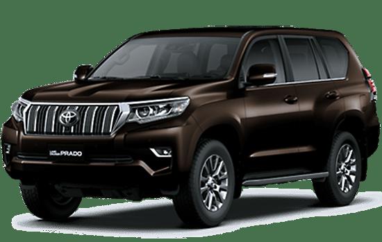 Toyota Land Cruiser màu nâu 2019
