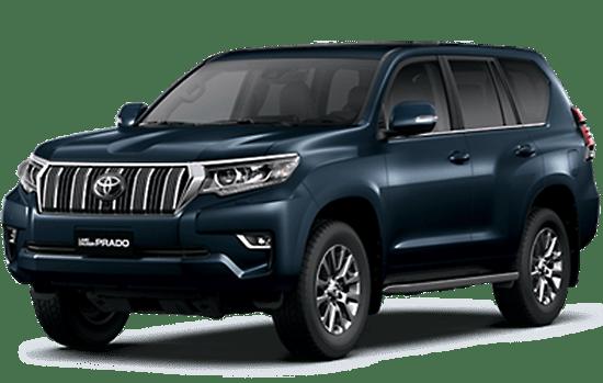 Toyota Land Cruiser màu xanh đen 2019