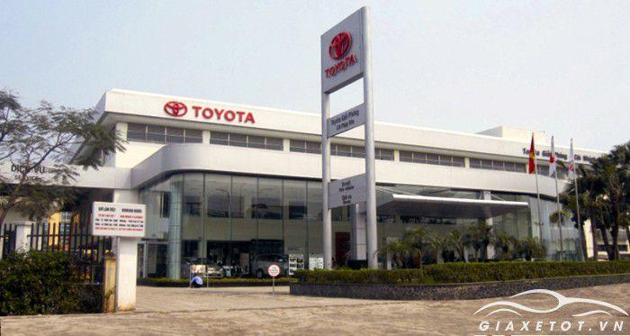 đại lý xe Toyota Giải PHóng