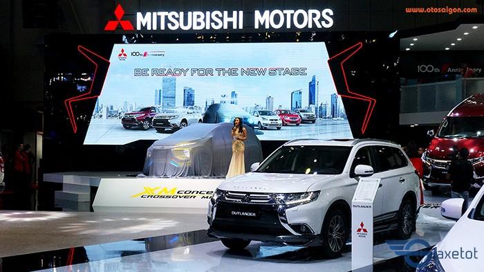 triển lãm giới thiệu mitsubishi Xpander
